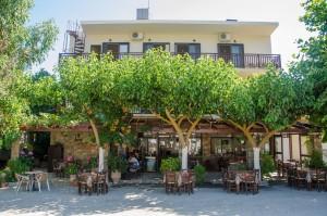 Platanos tavern in Anopoli Sfakia Chania
